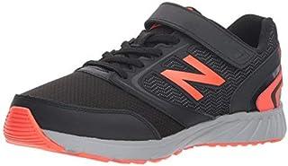 New Balance Boys' 455v1 Running Shoe Black/Flame KA 13.5 M US Little Kid [並行輸入品]