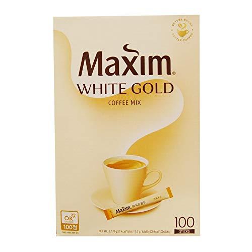 Kim Jonah CF Kaffee / Korea Kaffee [MAXIM Kaffee] White Gold Kaffee-Mix 100 St?ck