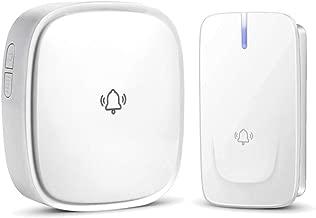 Boquite Campanello Intercome 720P WiFi IP Smart Visual Intercome Metal Infrared Night View Card Reader Campanello 1.4x1.5x5.7in EU Plug