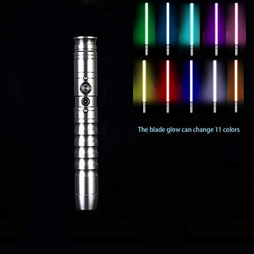 YXCC Lichtschwert Lichtschwert Star Wars Lichtschwert Essstäbchen Lichtschwertklinge Star Wars Lichtschwert Interaktive Requisiten von Vater und Sohn