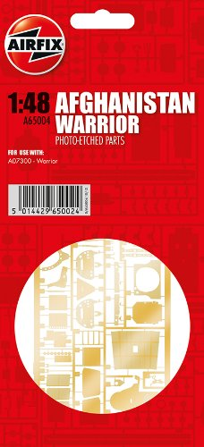 Airfix 1:48 Warrior Photo Etched Accessory Parts for A07300