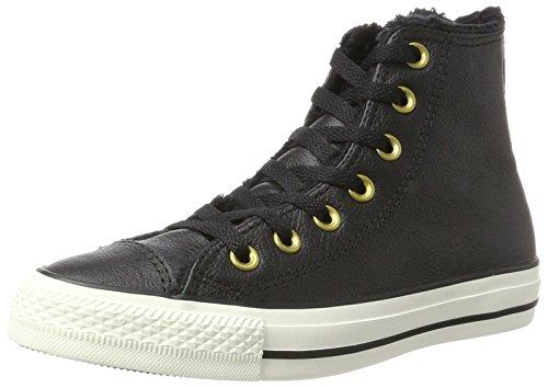 Converse Unisex-Erwachsene CTAS HI EGRET Hohe Sneaker, Schwarz (Black), 37 EU