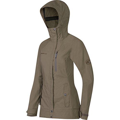 Mammut Trovat Guide SO Hooded Jacket Women Dolomite Gr. Large, Dolomite Olive