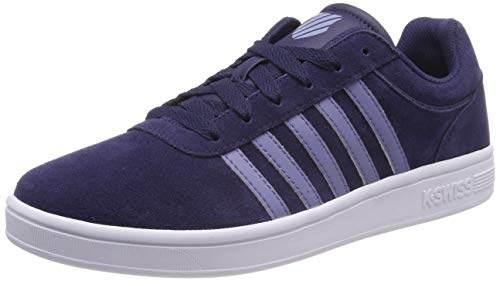 K-Swiss Herren Court CHESWICK SDE Sneaker, Blau (Navy/Stnwsh/Wt 440), 42 EU
