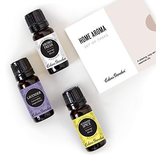 Huile essentielle de Thank You Lot par Edens Garden- 100% pure de qualité thérapeutique Essential Oils- 3/10 ml de bonne Nuit, lavande (bulgare) et Sunshine à épices