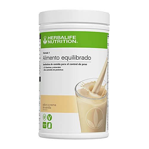 Herbalife batidos para adelgazar - Batidos sustitutivos de comida - Batidos Herbalife - Batidos proteinas - herbalife formula - productos herbalife - batido herbalife (Crema de vainilla 780 g)