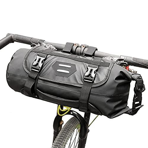 Bolsa Bastidor Delantero para Guardar Bicicletas, Bicicletas del Bolso del Manillar A Prueba De Agua, Bicicleta Bolso De La Cesta De Almacenamiento, Frente Paquete De Gran Capacidad