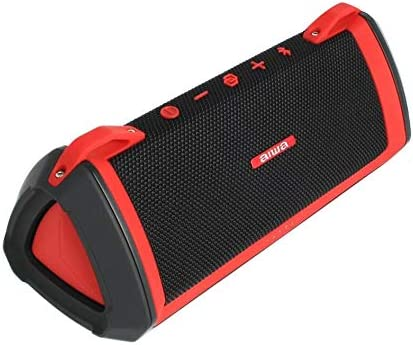 Aiwa Exos 3 Bluetooth Speaker Red Black Waterproof Rugged Serious Acoustic Performance product image