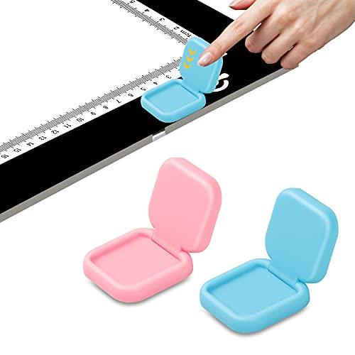 QiLiTd Tablette Lumineuse A2/A3/A4/A5 Couvercle de Bouton pour Broderie Diamant, Protecteur de Couverturer de Table Lumineuse Dessin avec Diamond Painting Accessoires.(br)