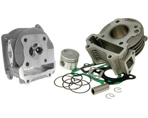 Zylinderkit 50ccm 2EXTREME Standard mit SLS Zylinderkopf für FLEX TECH Cavallino 50cc, Cityleader