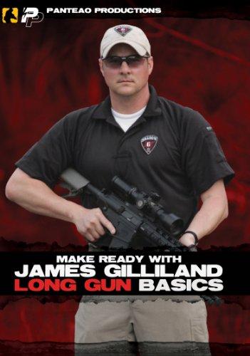 Panteao Productions: Make Ready with James Gilliland Long Gun Basics Video - PMR024 - Sniper - Long Range Shooting - Rifle and Tactical Training