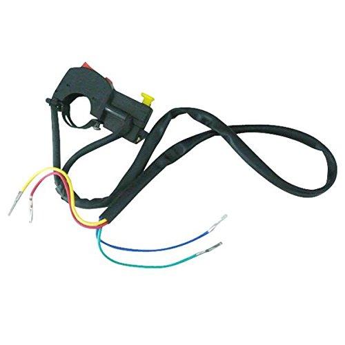 Générique Interrupteur électrique d'Arret pour 50cc 90cc 110cc 125cc Pit Dirt Bike Dirt Bike Moto