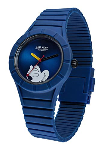 Hip Hop Watches - Orologio Mickey Mouse da Uomo Edizione Speciale...