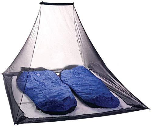 YOMERA Moskitonetz Doppelbetten, Moskitonetz Camping Fliegennetz Mückennetz für Doppelbett Reise und Outdoor Camping Einfache Anbringung Tragetasche Keine Chemikalien Ohne Nagel