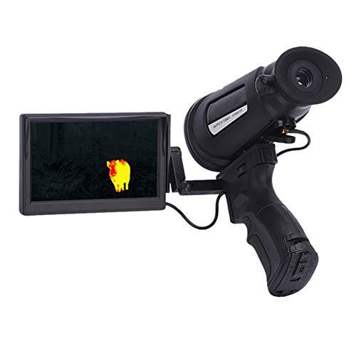 JDUEFD Wärmebildkamera Suche Infrarot Digital Nachtsicht Monokular Draussen Sicherheit Patrouillieren HD-Bildgebung mit 640 x 480 Pixeln Schutzart IP66