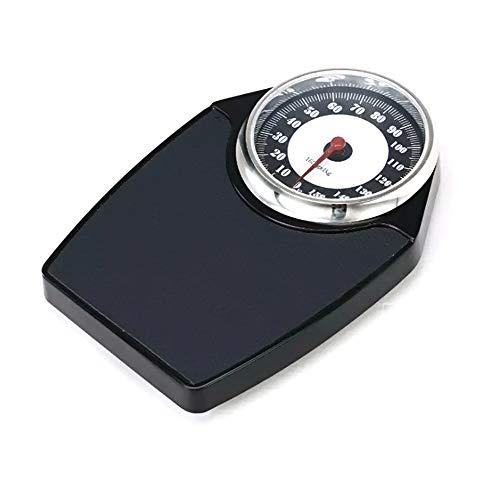 YZJJ Bascula Personal analogica, Báscula mecánica, Báscula de baño mecánica, Báscula Digital, de hasta 150 kg, Pantalla con Lente fácil de Leer, Conveniente Plataforma Acolchada, sin baterías