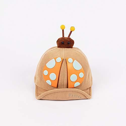 wopiaol Sombrero para niños, Modelos de otoño e Invierno, Siete Estrellas, Mariquita, algodón, Gorros de ala Suave para bebés, Sombreros de bebé Gruesos cálidos Coreanos