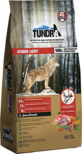 Tundra Hundefutter Senior/Light - getreidefrei (11,34 kg)