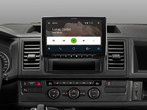 Alpine ILX-F903T6 Volkswagen T5/T6 autoradio - passende multimedia radio voor VW T5 en T6 - met Apple CarPlay Android Auto Bluetooth