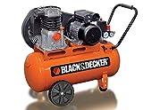 BLACK & DECKER Kompressor mit 100 Liter Tank 10 bar BD220-100-2 Druckluftkompressor