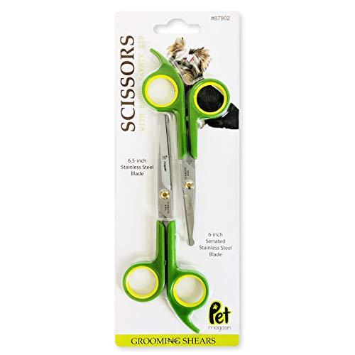 Pet Magasin Grooming Scissors Kits - (2 Pairs - 1...