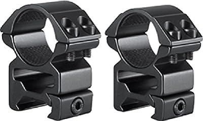 Hawke Sport Optics 2pc Match Series Weaver Scope Rings, 1in, High, QuickPeep HM7103 by Hawke Sport Optics