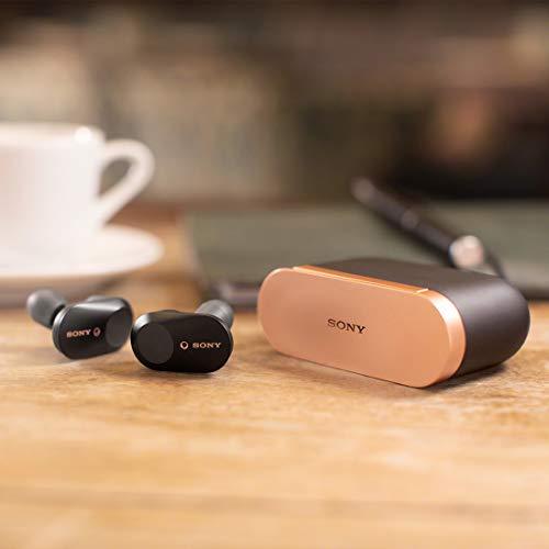 ソニー ワイヤレスノイズキャンセリングイヤホン WF-1000XM3 : 完全ワイヤレス/ Amazon Alexa搭載 /Bluetooth/ハイレゾ相当 最大6時間連続再生 2019年モデル / マイク付き 360 Reality Audio認定モデル ブラック WF-1000XM3 BM