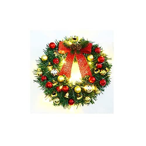 Corona Navidad, Coronas De Puerta, Navidad Al Aire Libre, Guirnaldas Artificiales Con PiñAs, Copos Nieve, Bayas DecoracióN Del Hogar Vacaciones Puerta Principal A
