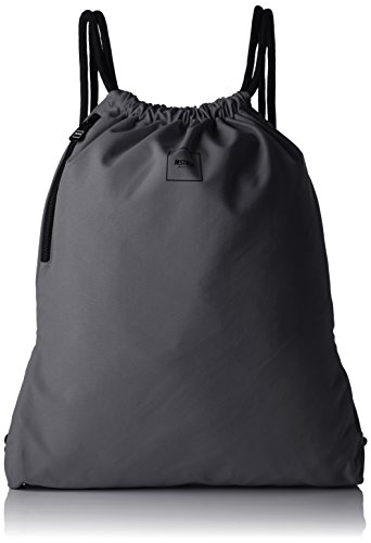 MSTRDS Unisex Basic Gym Sack Rucksack Beutel dark grey One