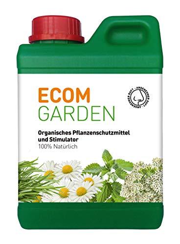 Ecom Garden. Natürlicher Dünger mit Brennnesseln. Flüssigdünger BioStimulator zur Blatt Anwendung. 1L. Belebt die Pflanze und verleiht Ihr Schönheit.