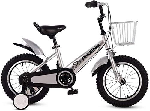 Jue Las Bicicletas Plegables Infantiles for niños y niñas Bicicletas 3-6-7-8-10 años Los niños de Bicicletas