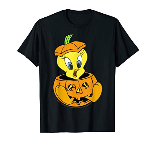 Looney Tunes Halloween Tweety Bird Pumpkin T-Shirt