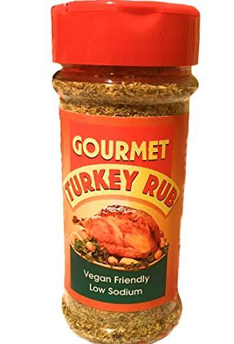 Caribbean Fusion - Gourmet Turkey Rub Seasoning Perfect Blend for Turkey,Poultry,Ground Turkey, vegetables, low sodium and Vegan Friendly