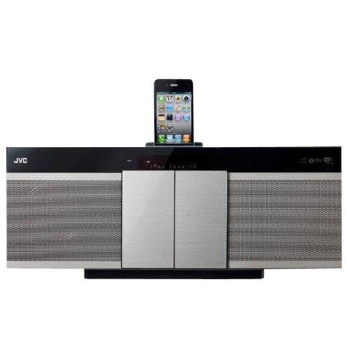 ビクター JVC AirPlay対応 iPod/iPhoneドック搭載コンパクトコンポーネントシステム(シルバー)Victor NX-NT70-S