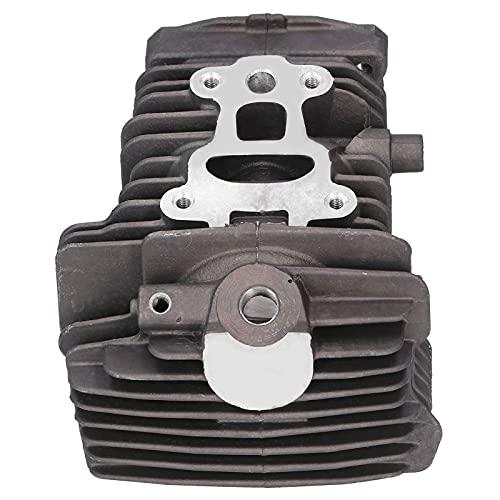 Fdit Herramientas de jardín Resistentes al Desgaste Kit de pistón de Cilindro de 40 mm Apto para Piezas de Repuesto de Motosierra Stihl MS211 MS 211C MS211C