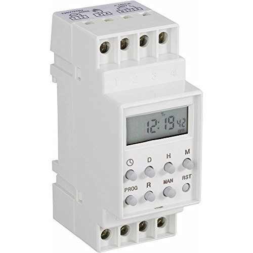 Conrad Components Hutschienen-Zeitschaltuhr digital 230 V/AC 16 A/250 V