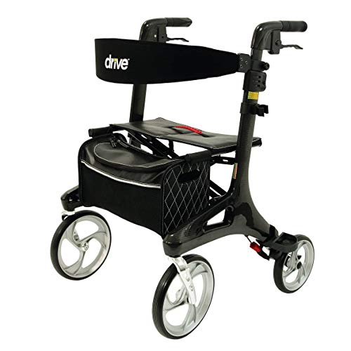 Drive Medical Rollator Nitro Carbon Größe M