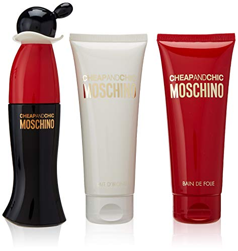 Moschino Cheap & Chic Lote, 3 Count