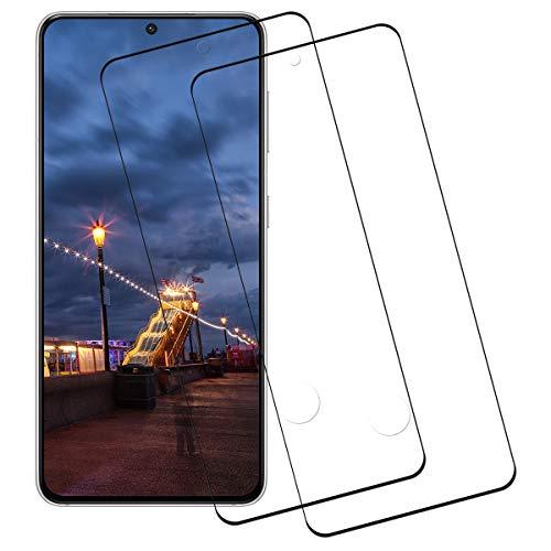 Panzerglas für Samsung Galaxy S21 Plus,3D Ultra-Clear,9H Härte Anti-Kratzen,Anti-Öl Glasfolie,Displayschutzfolie für Samsung Galaxy S21 Plus-2 Stück