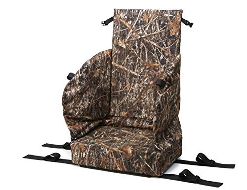 Supreme Slumper Replacement Tree Stand Seat with 4 Inch Thick Cushion for Extreme Hunting Comfort,Universal Fitting