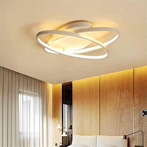 LWQKA Wohnzimmer-Decken-Lampe, Balkon Deckenleuchte, Modern, Metall, Acryl Lampshade Beleuchtung Wohnzimmer Esszimmer Schlafzimmer Küche Flur,Whitelight