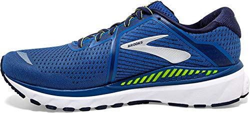 Brooks Adrenaline GTS 20, Chaussure de Course Homme, Blue/Nightlife/White, 48.5 EU