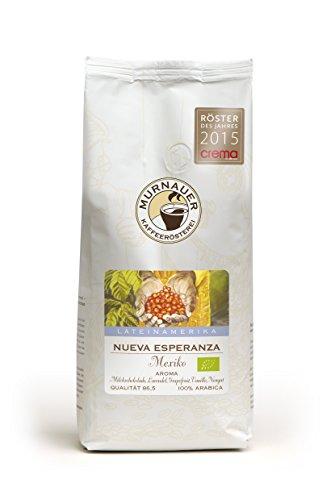 Murnauer Kaffeerösterei NUEVA ESPERANZA - Kaffeebohnen aus Mexiko - Premium Kaffee - von Hand frisch & schonend geröstet - Espresso und Filterkaffee - 1000g ganze Bohnen