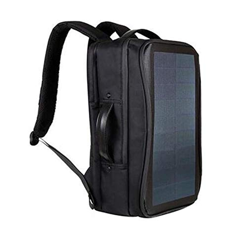DKee CÁMARA Hogar Conveniente Flexible Panel Solar 14W Poder Mochila for Portátil Bolsa con Asa Y Puerto De Carga USB Vacaciones Mochila