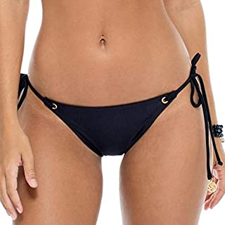Luli Fama Women's Mambo Seamless Moderate Coverage Bikini Bottom Swimwear