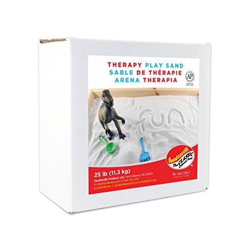 Sandtastik Therapy Play Sand, 25 lb (11.3 kg) Box