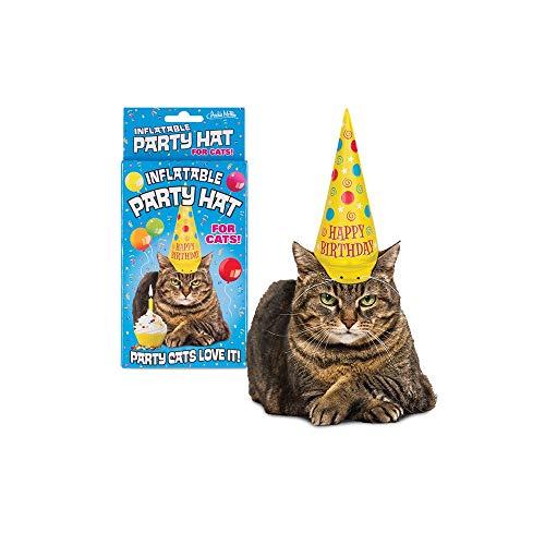 Archie Mcphee 0739048127867 Aufblasbare Partyhut für Katzen