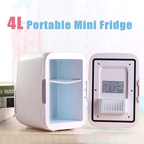 Mini Koelkast, 12V 4L Portable Car Cooler, Mini Koelkast, Car Cooler, 12V Cooler Heater, geschikt for buiten Car Portable Koelkast