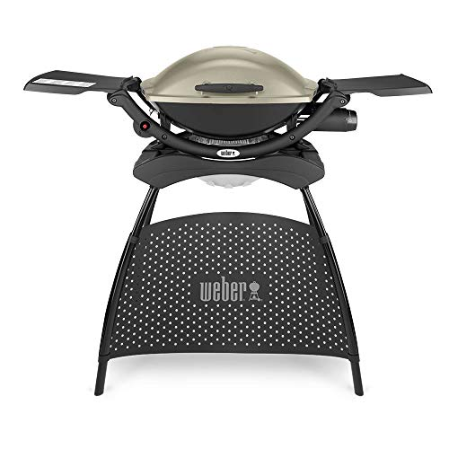 Weber, Titanium Q 2000 Gas Grill with Stand