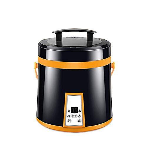 Sooiy 1.6L Mini Electric Arrocera 110V 220V Pastel de Creador de Habitaciones Estofado de Sopa de gachas de Avena Pot La preservación del Calor Cita EEUU Enchufe de la UE Arroceras